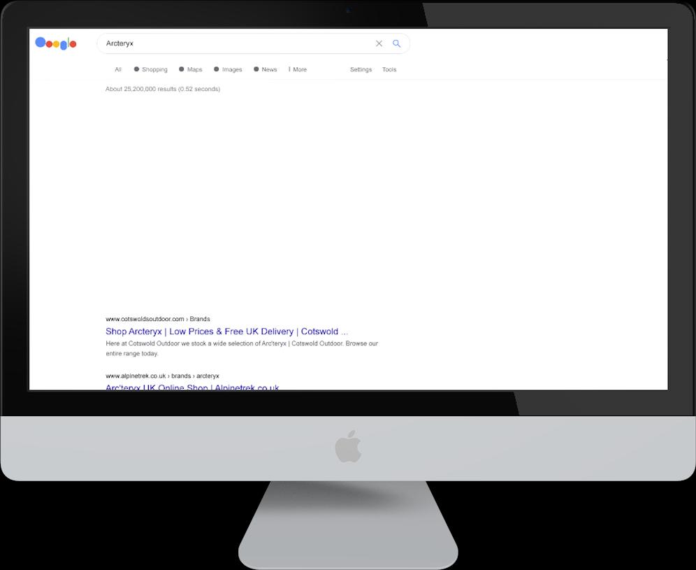 mac search results